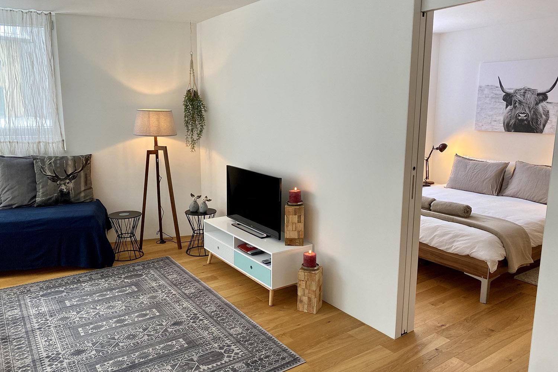 Living Room & Bedroom 1
